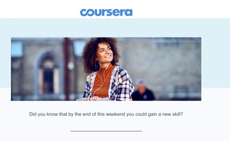 Attention grabber from coursera