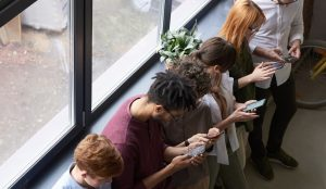 group-of-people-with-phones-engaged-social-media