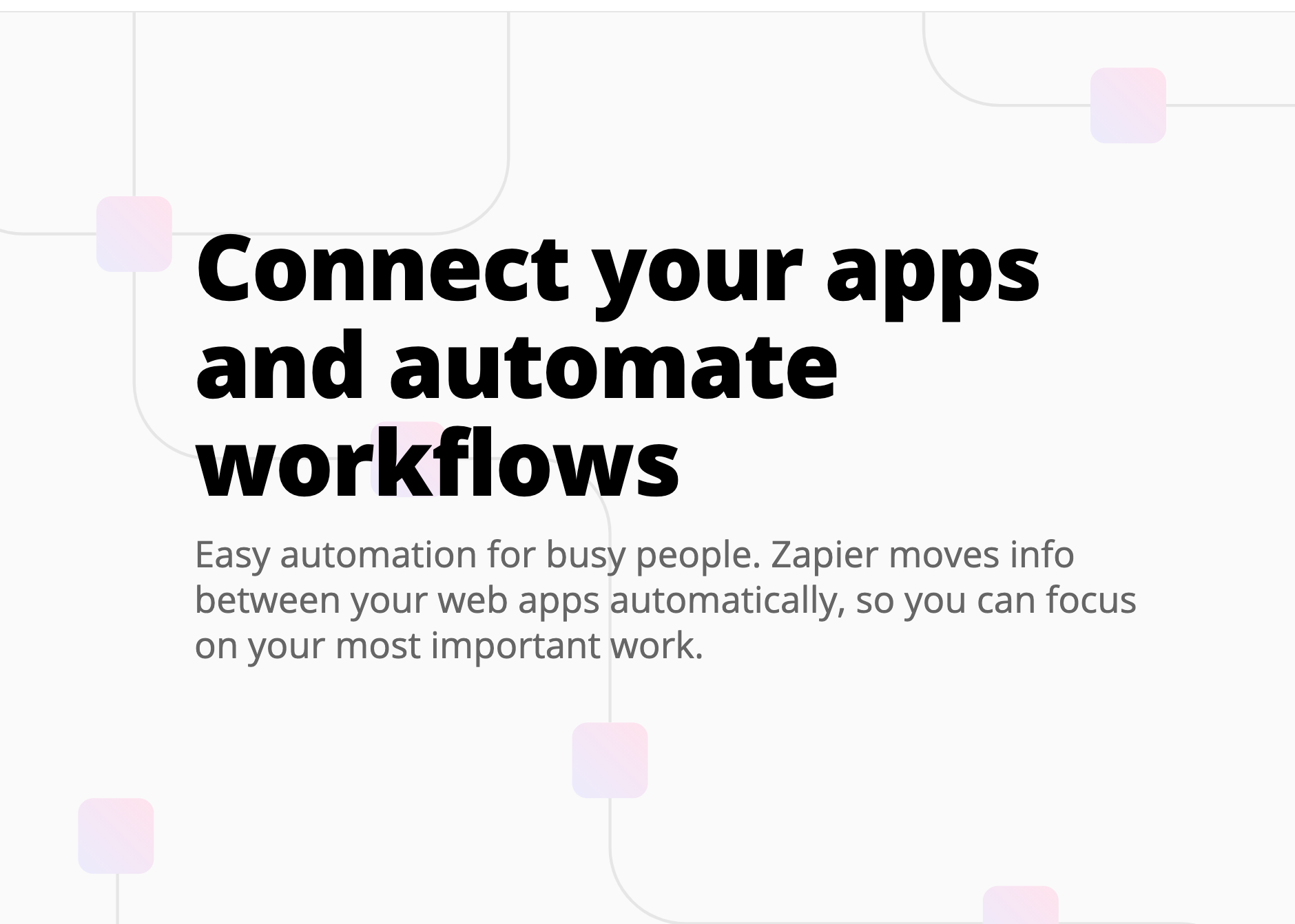 Zapier automation tools