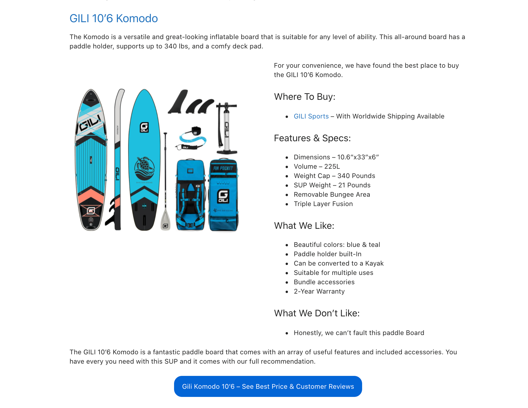 Guide to buying your first paddle board